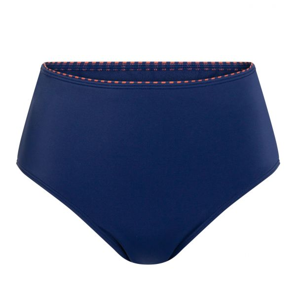 Amoena Bikini-HighWaist-Panty Alabama Marine/Rost